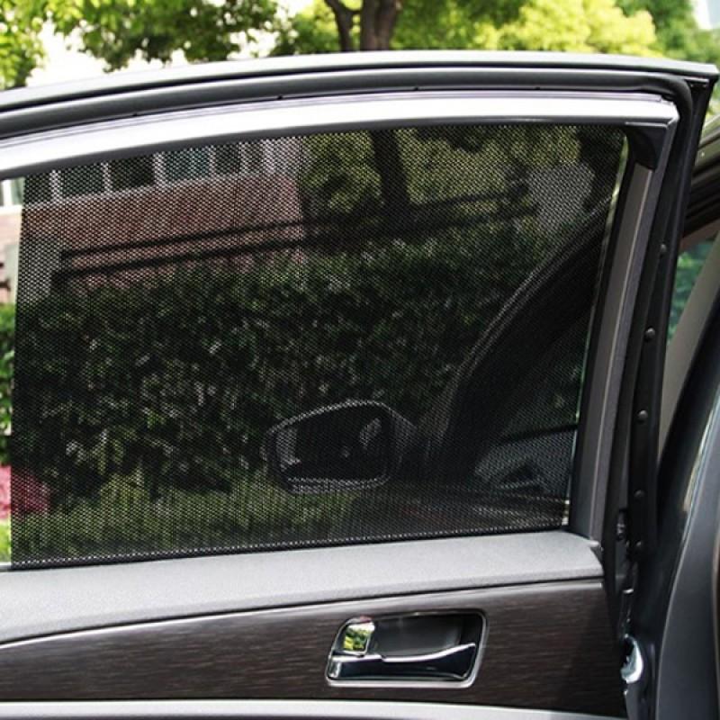 Noktalı Otomobil Güneşliği Yan Cam