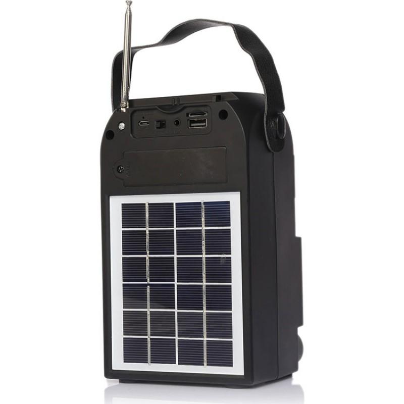 Nns Güneş Enerjili Radyo Taşınabilir Bluetooth Hoparlör