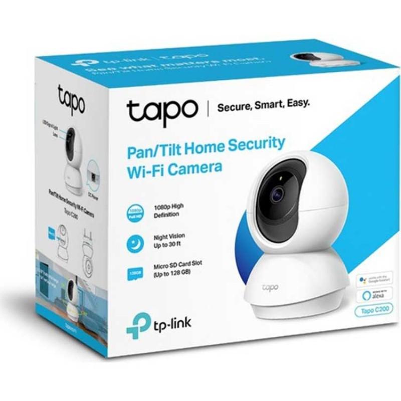 TP-Link Tapo C200 Gece Görüşlü 1080p Full HD Wi-Fi Kamera