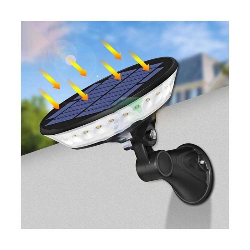 Dailytech Güneş Enerjili Sensörlü Led Bahçe ve Duvar Lambası