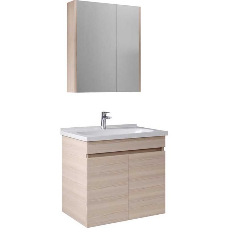 Kale Banyo Krea Banyo Dolabı Takımı (65cm)