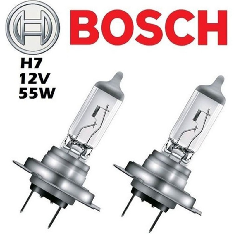 Bosch H7 12V 55W Far Ampülü 2 Adet Set