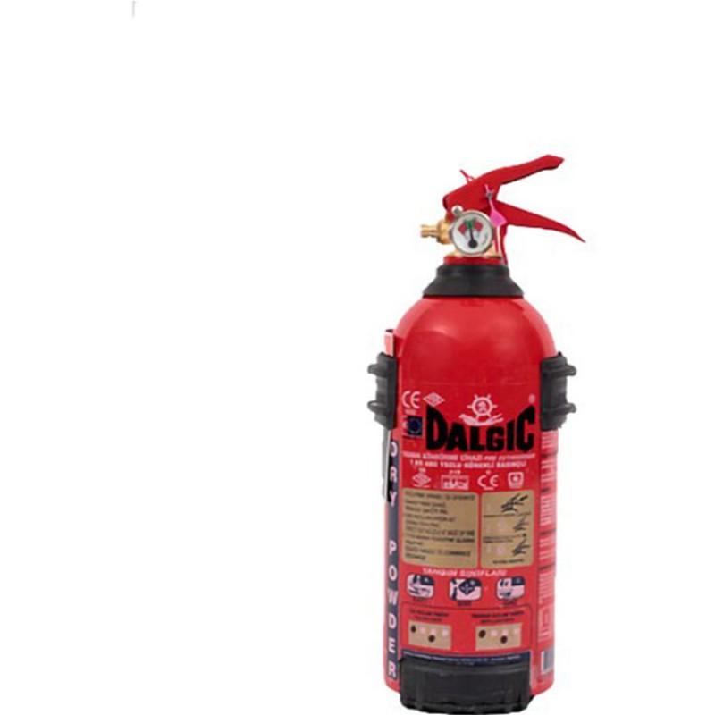 Dalgıç 1 Kg Abc Kuru Kimyevi Tozlu Yangın Söndürme Cihazı Tse'Li