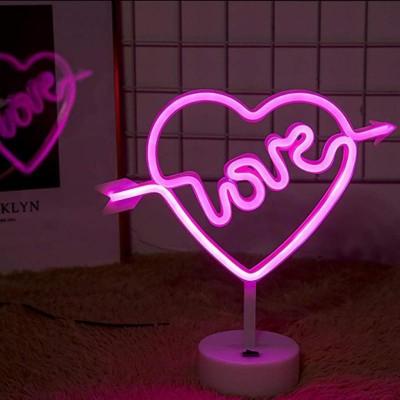 Love Neon Led Masa ve Gece Lambası