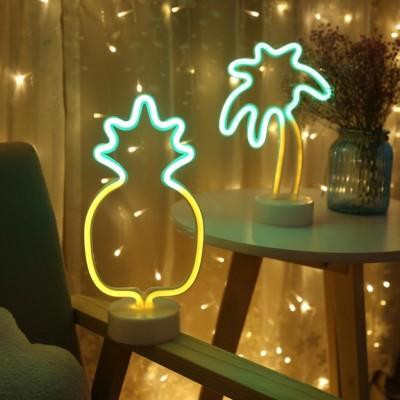 Ananas Neon Led Masa Ve Gece Lambası