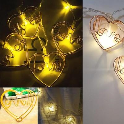 Mini Kalpli Metalik 10 lu Led Işık