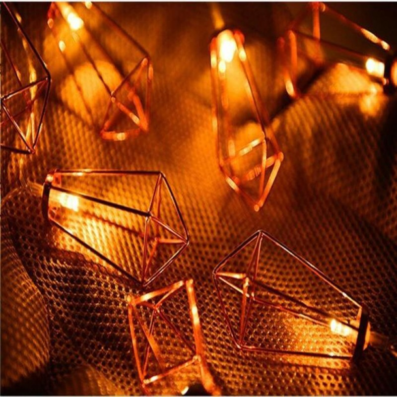Kandil Görünümlü Metal Şerit Led Işık