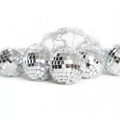 Disko Topu Görünümlü 10 lu Led Işık