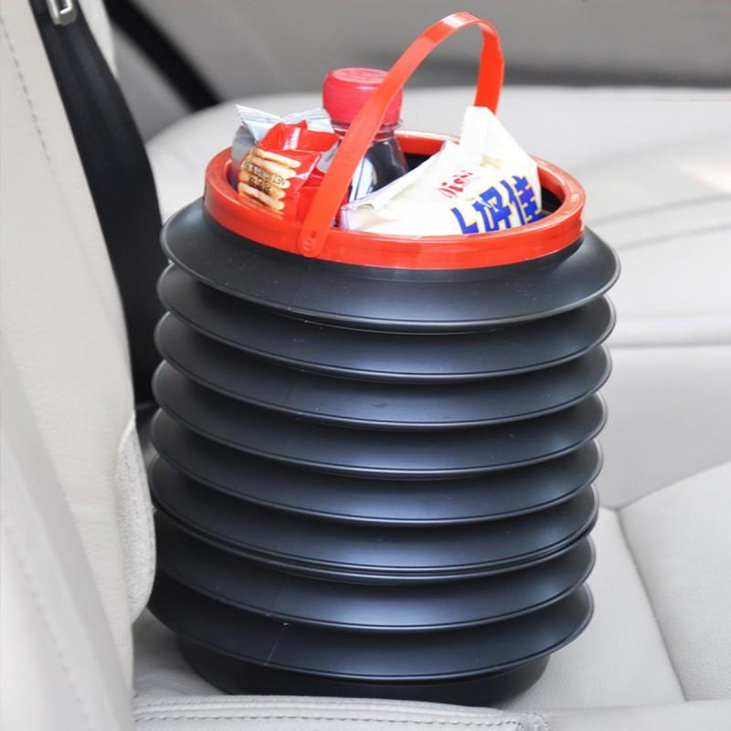 Araç İçi Katlanabilir Eşya Depolama Düzenleme Ve Çöp Kutusu