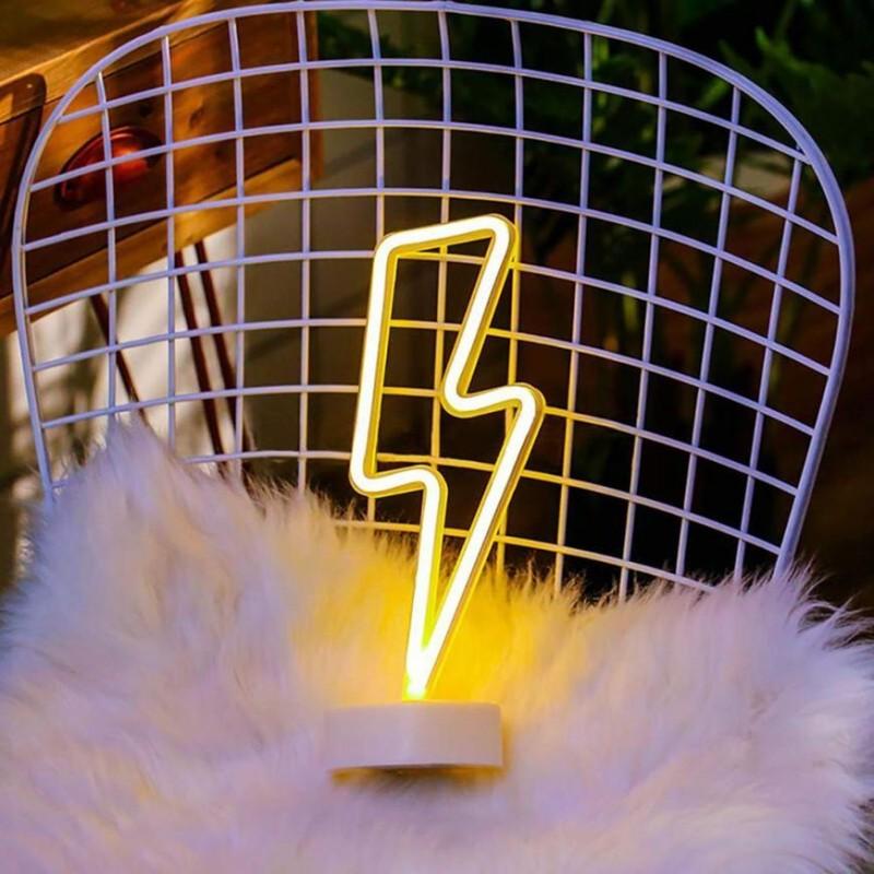 Şimşek Neon Led Lamba