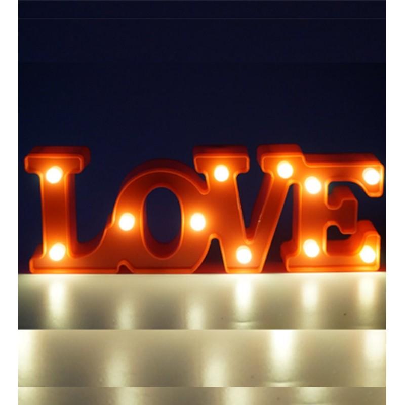 Love Yazılı Led Aydınlatma