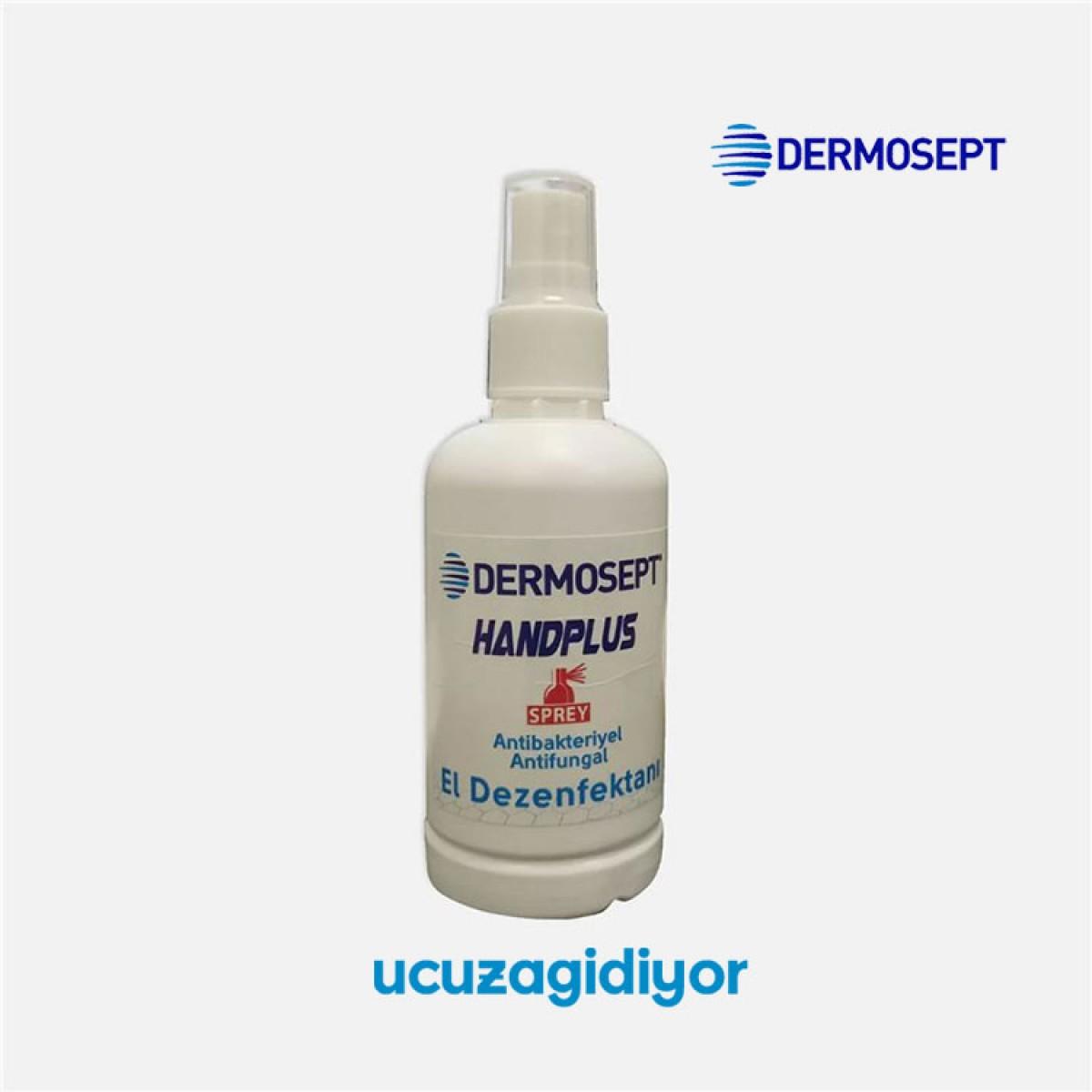 dermosept antibakteriyel el dezenfektani sprey 100ml