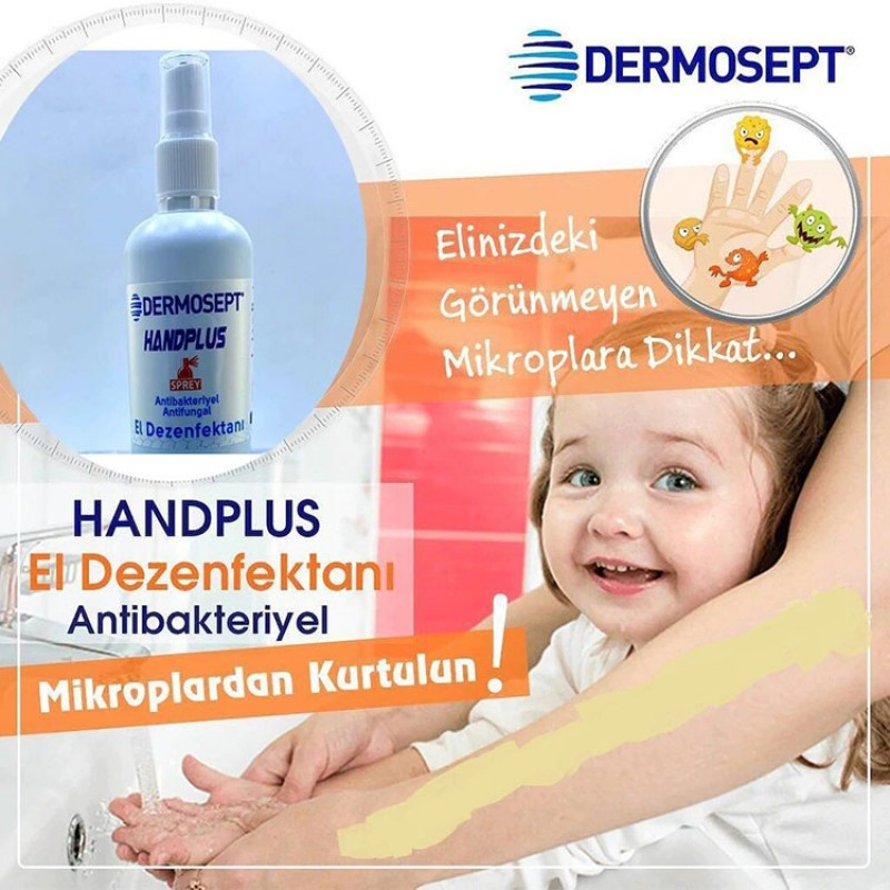 Dermosept Antibakteriyel El Dezenfektanı Sprey 100ML