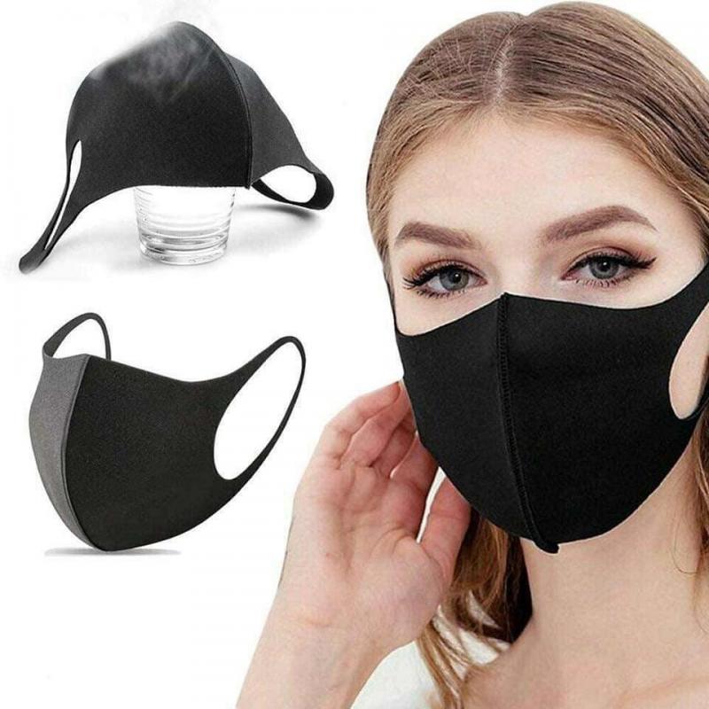 Steril Nano Teknoloji Siyah Yüz Maskesi