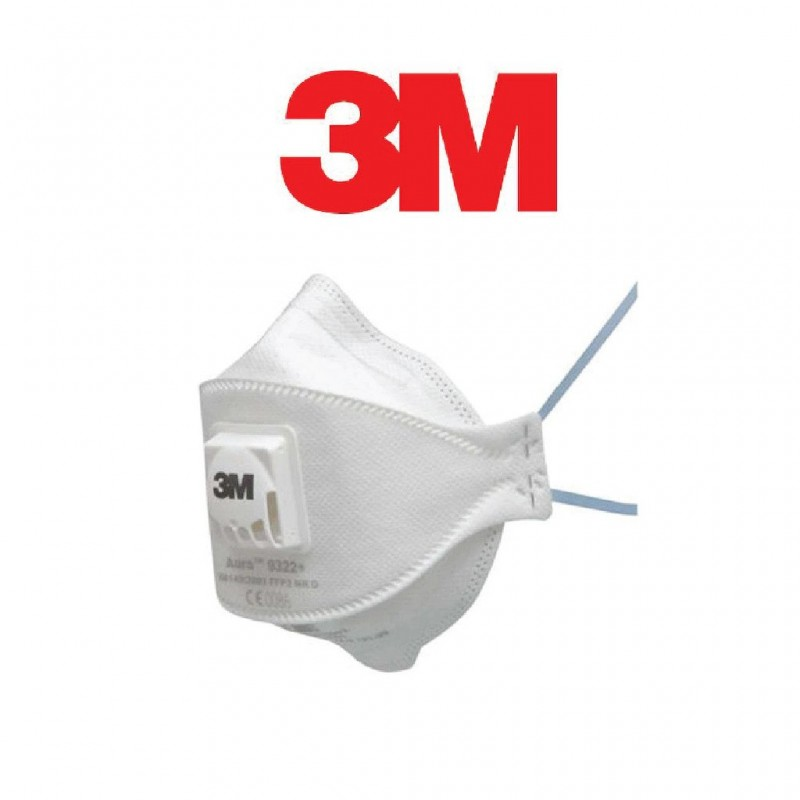 3M 9322 FFP2 N95 Koruyucu Maske