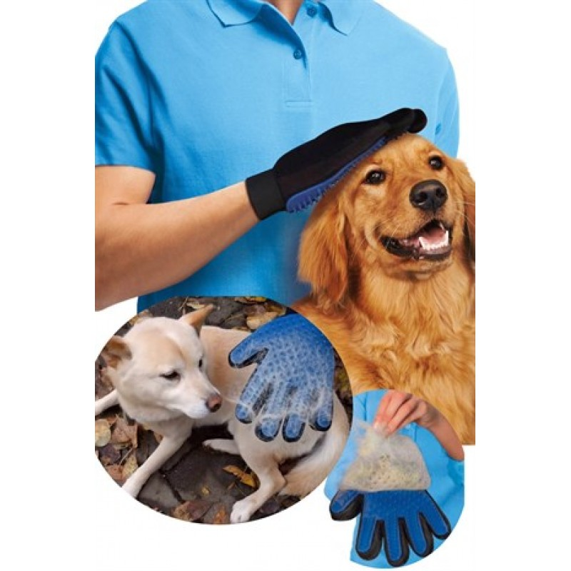 Evcil Hayvan Tüy Toplayıcı Eldiven