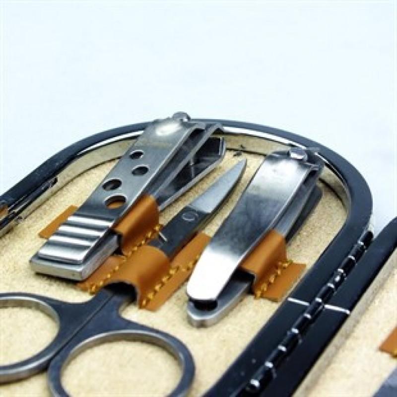 Profesyonel 7 Parça Manikür Pedikür Tırnak Bakımı Çantalı Set