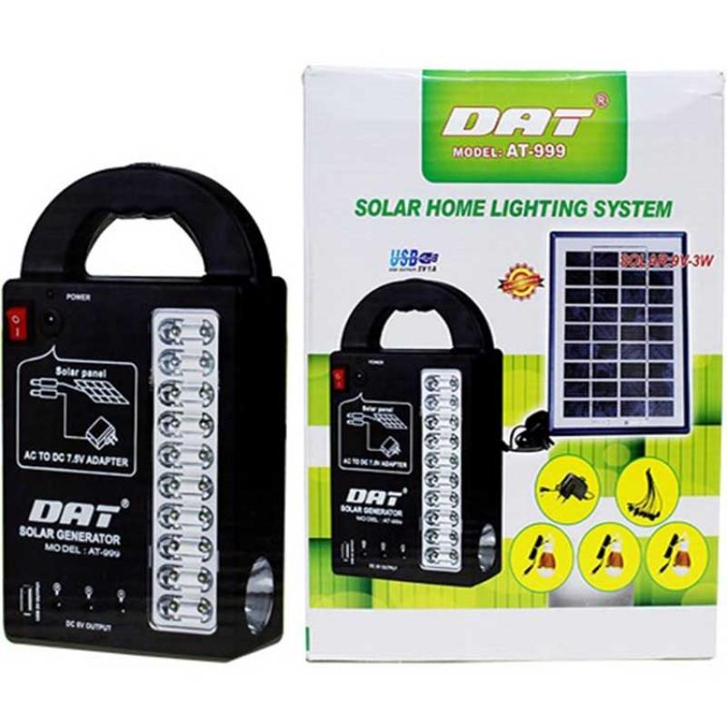 Dat At-999 Şarjlı ve Güneş Enerjili Aydınlatma Cihazı
