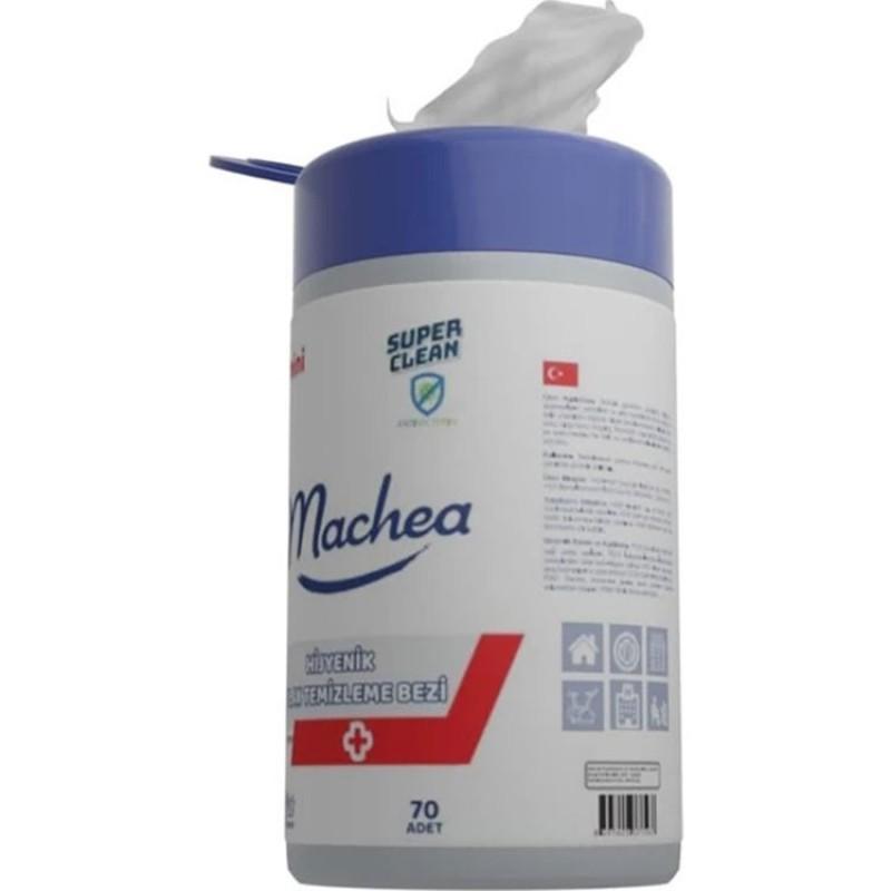 Machea 70 Adet Hijyenik Güçlü Yüzey Temizleme Bezi