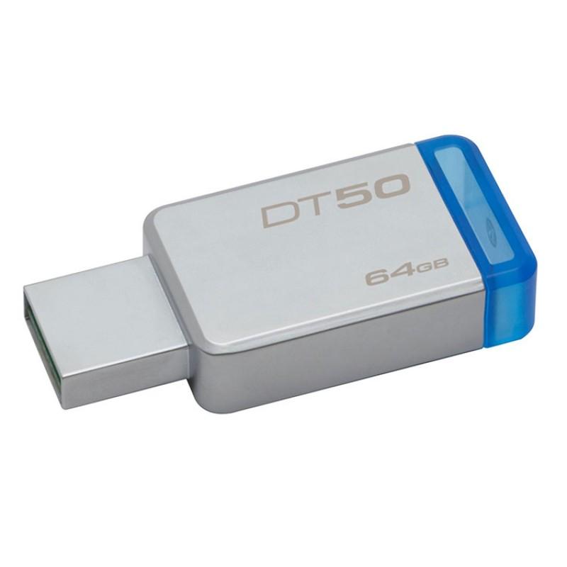 Kingston DataTraveler50 64GB USB 3.0 Bellek  DT50/64GB