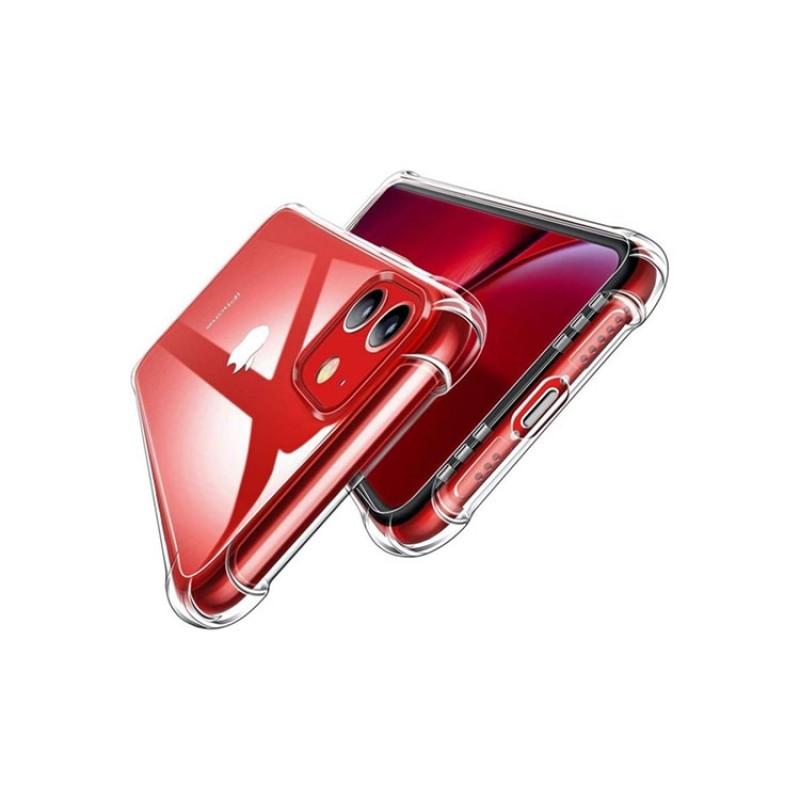 Guesche Apple iPhone 11 Şeffaf Airbag Antishock Silikon Kılıf