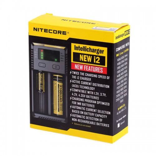 Nitecore New i2 Li-ion 18650 Pil Şarj Aleti