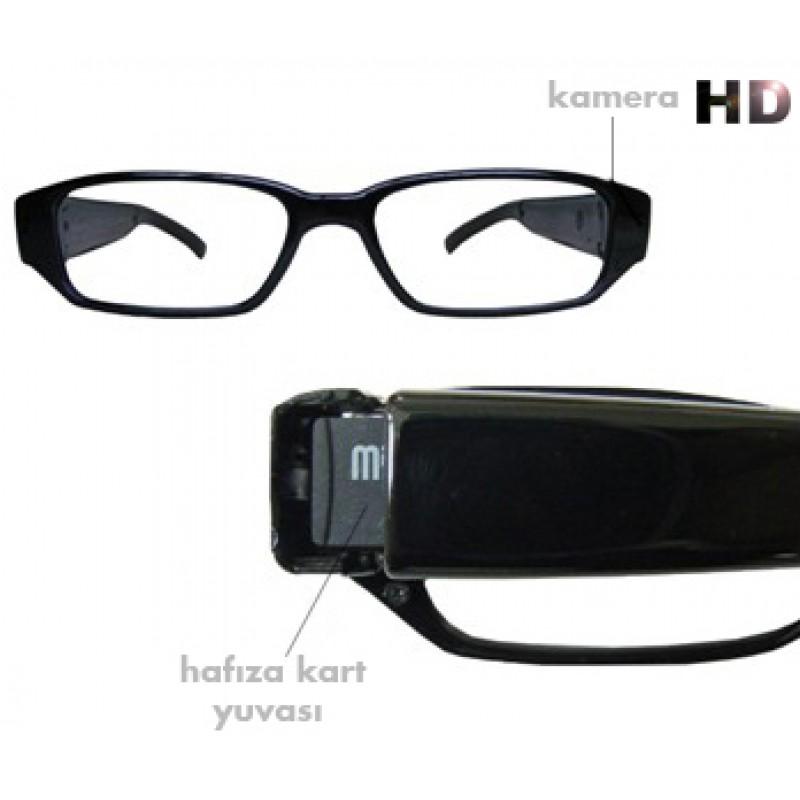 Kameralı Gözlük Hafıza Kartı Hediyeli