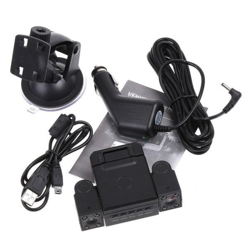 Çift Kameralı Araç İçi HD Kamera