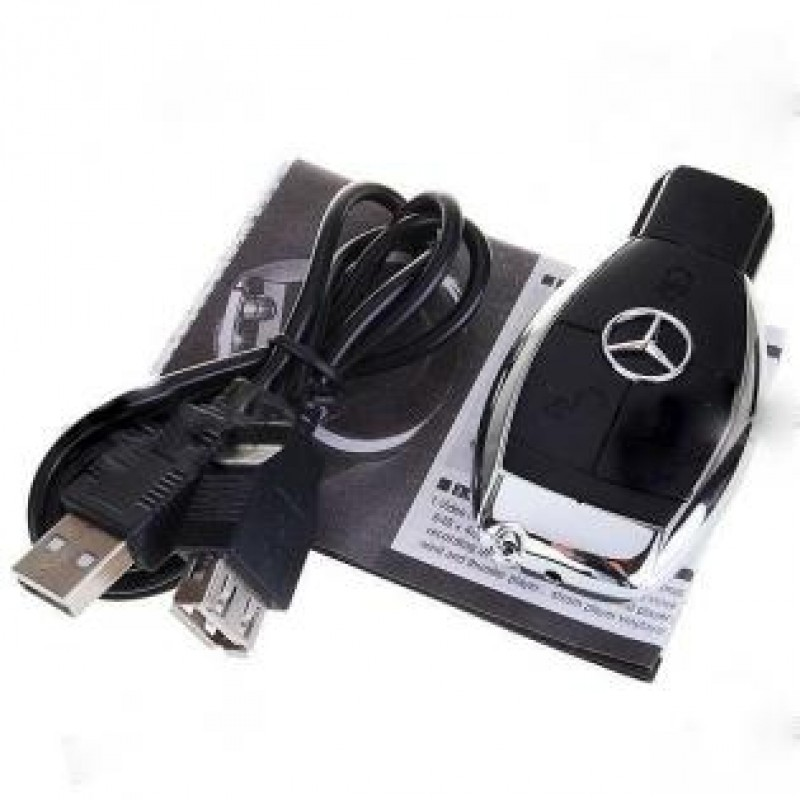 Mercedes Anahtarlık Gizli Kamera