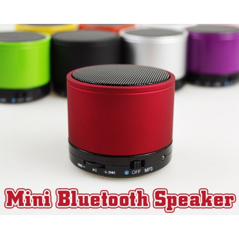 Mini Bluetooth Hoparlör (SD Kart Destekli)