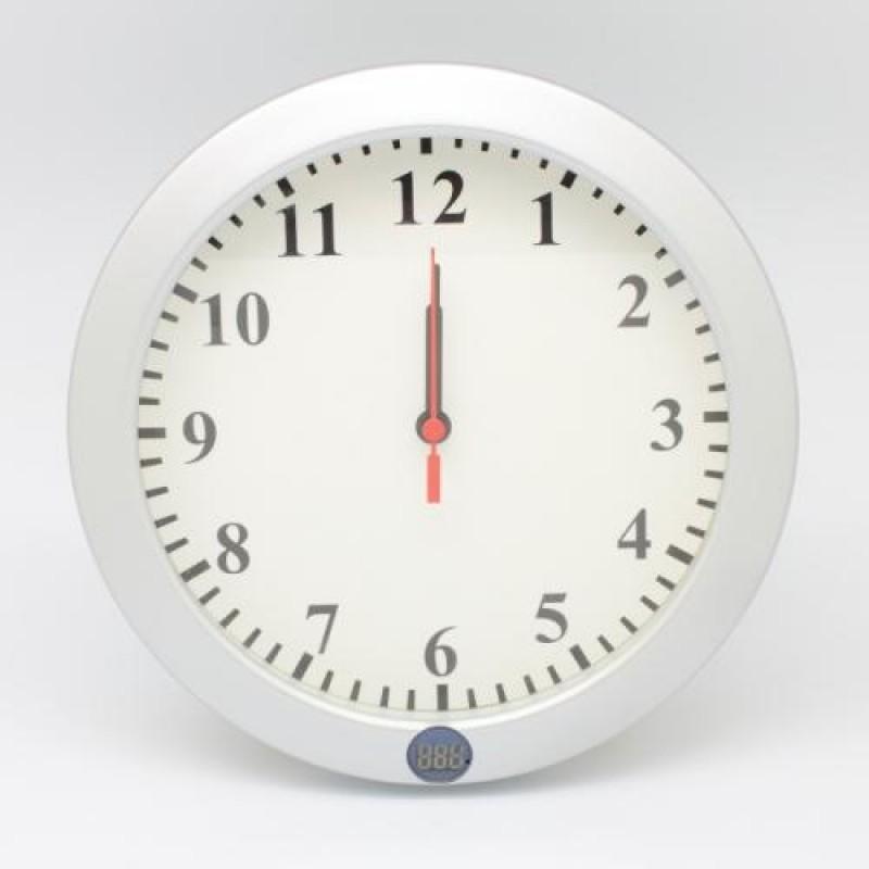 Gizli Kamera Özellikli Wifi Duvar Saati (Sınırsız Çekim - Canlı İzleme)