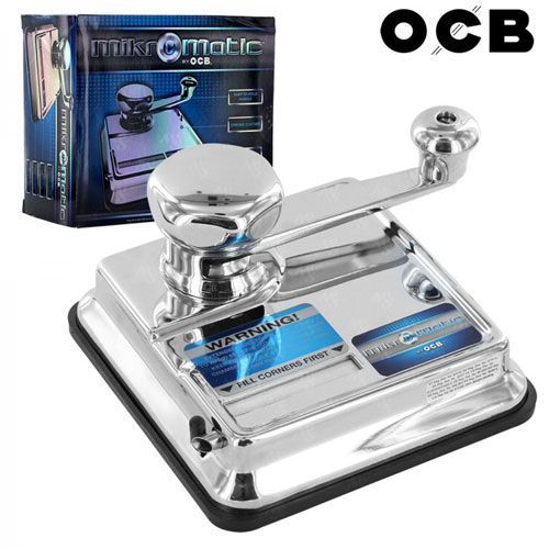 OCB Mikromatik Manuel Çelik Sigara Sarma Makinası