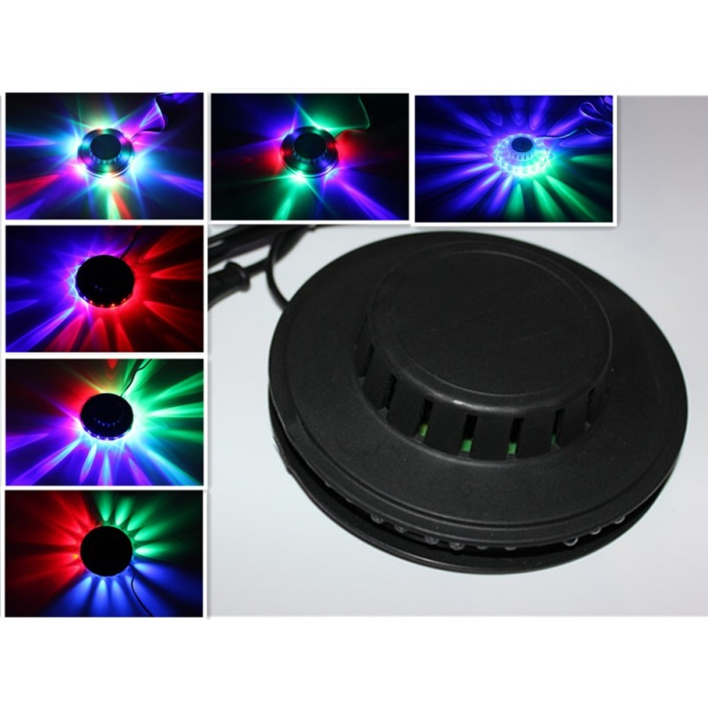 Ufo Led Renkli Disko Lambası