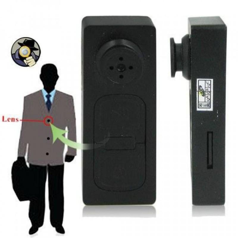 Gizli Kamera (Düğme Görünümlü)