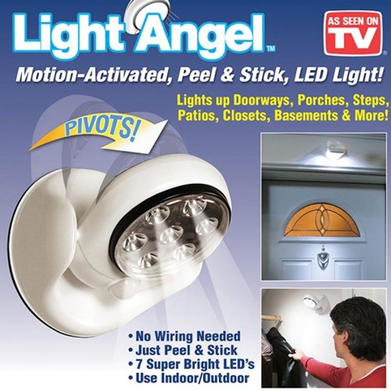 Pilli Sensörlü Lamba Light Angel