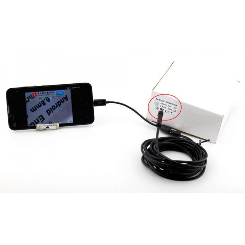 Yılan Kamera Boroskop 2 Mt Akıllı Telefon Destekli