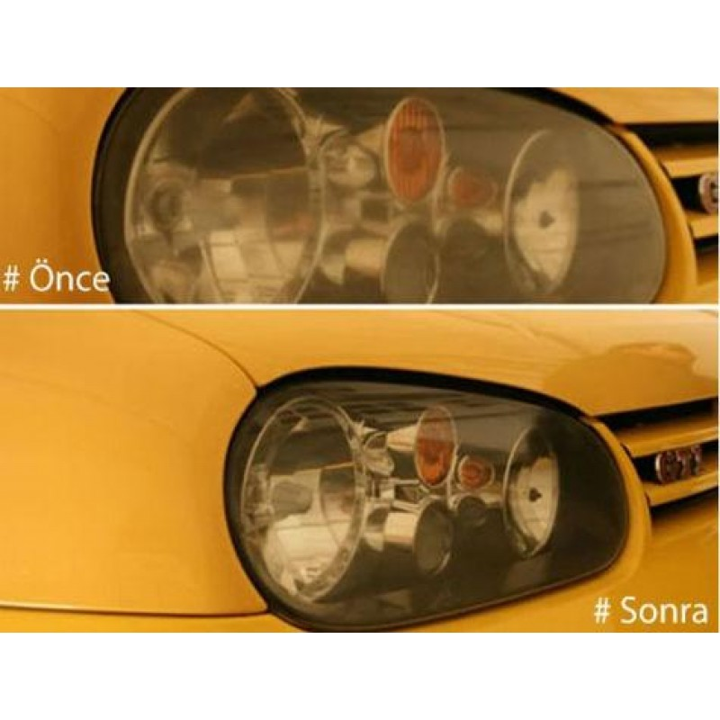 Araç Farı Temizleme Seti Buffer Glossy Light