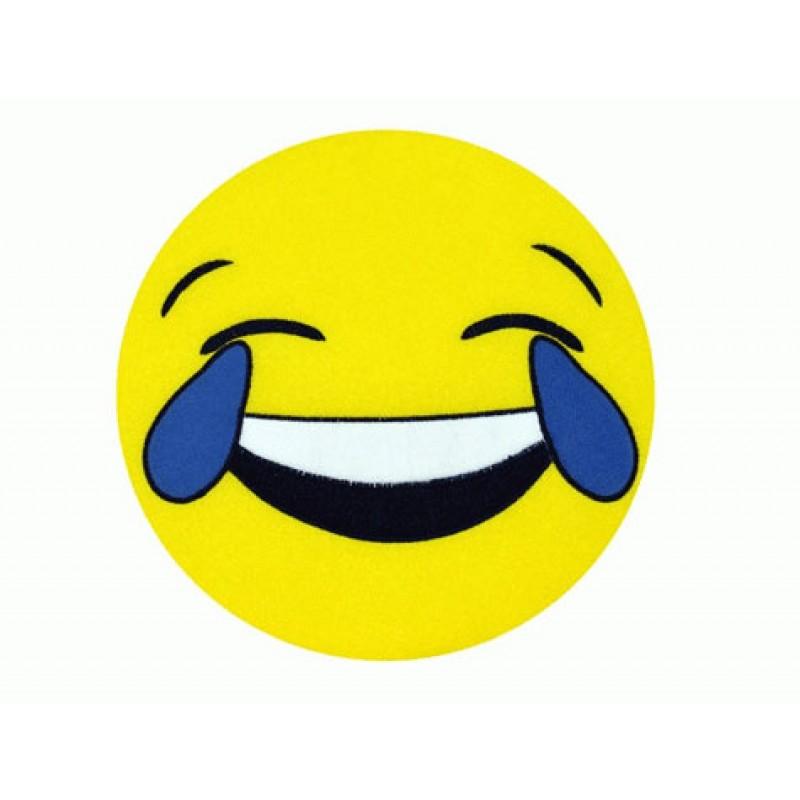 Emoji Yastık Ağlayarak Gülen