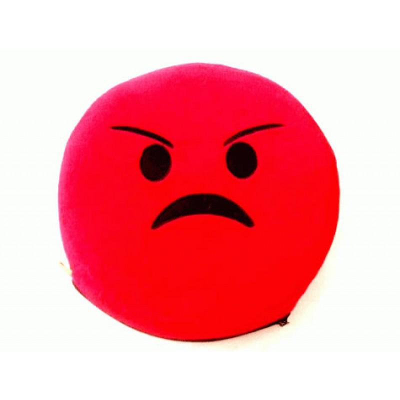 Emoji Yastık Kızgın Surat