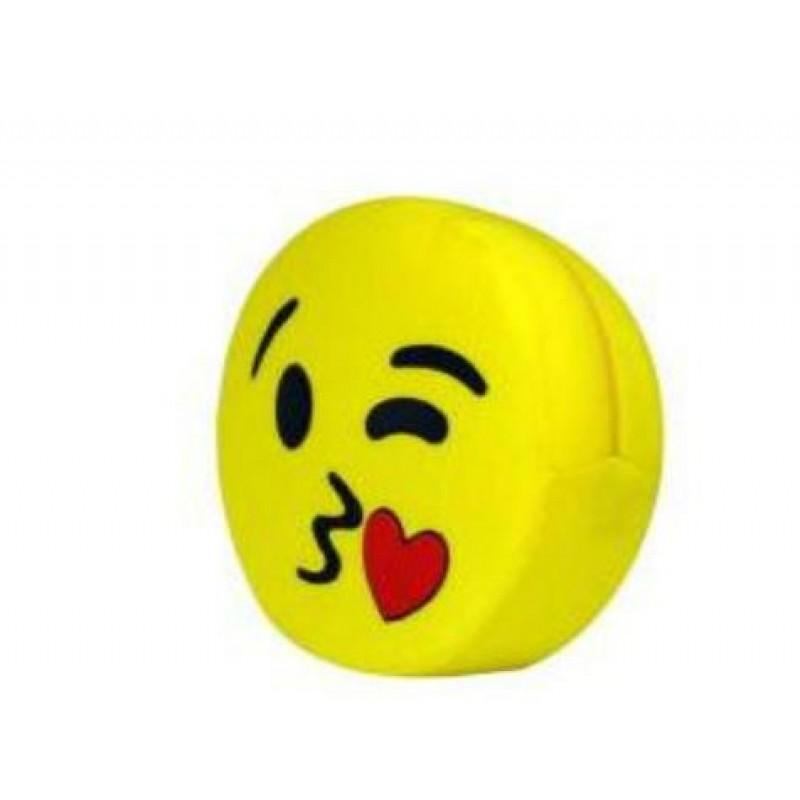 Emoji Yastık Öpücük Atan
