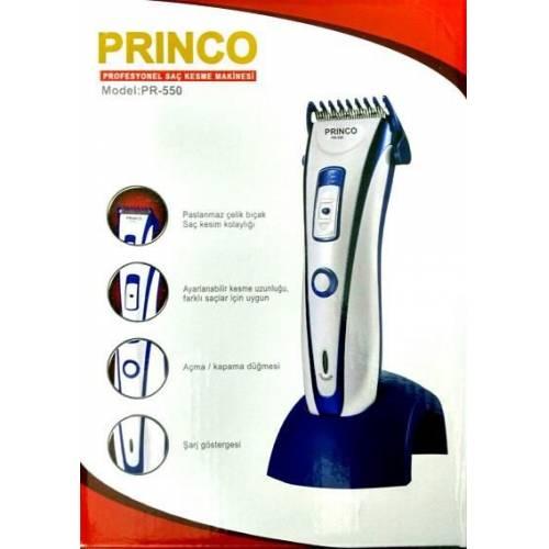 Şarjlı Saç Sakal Traş Makinesi Princo PR-550
