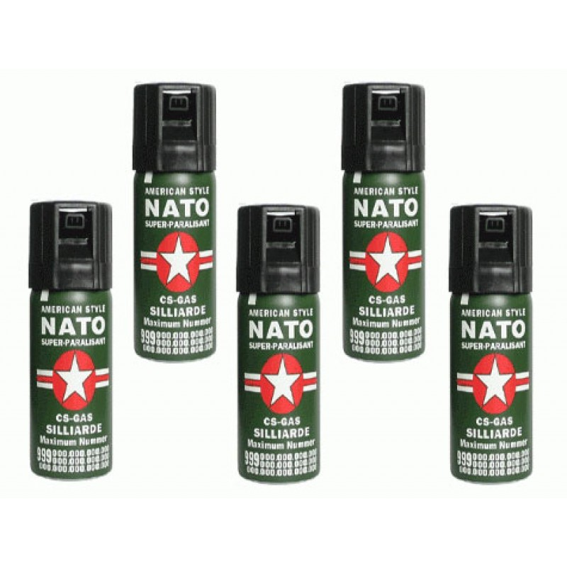 Biber Gazı Nato Büyük Boy